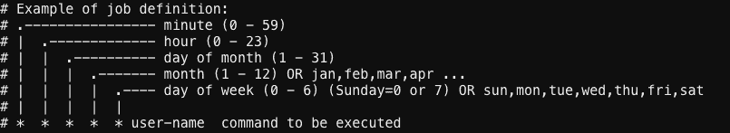 How to schedule Jobs with Cron in Linux – The Geek Diary