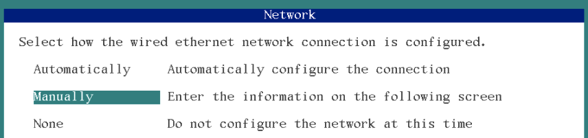 select network connection solaris 11 installation