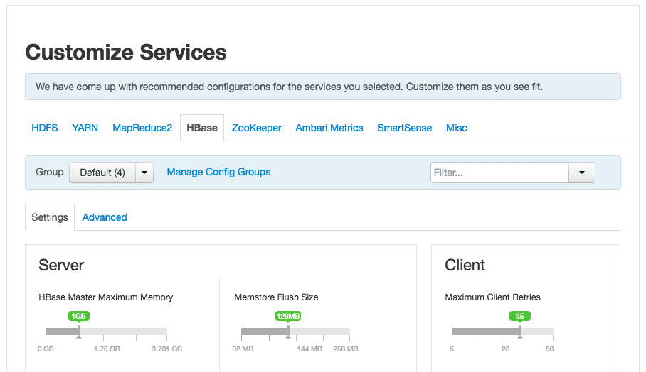 Customize Service HDPCA add service using ambari
