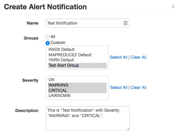 create alert notifications HDPCA exam