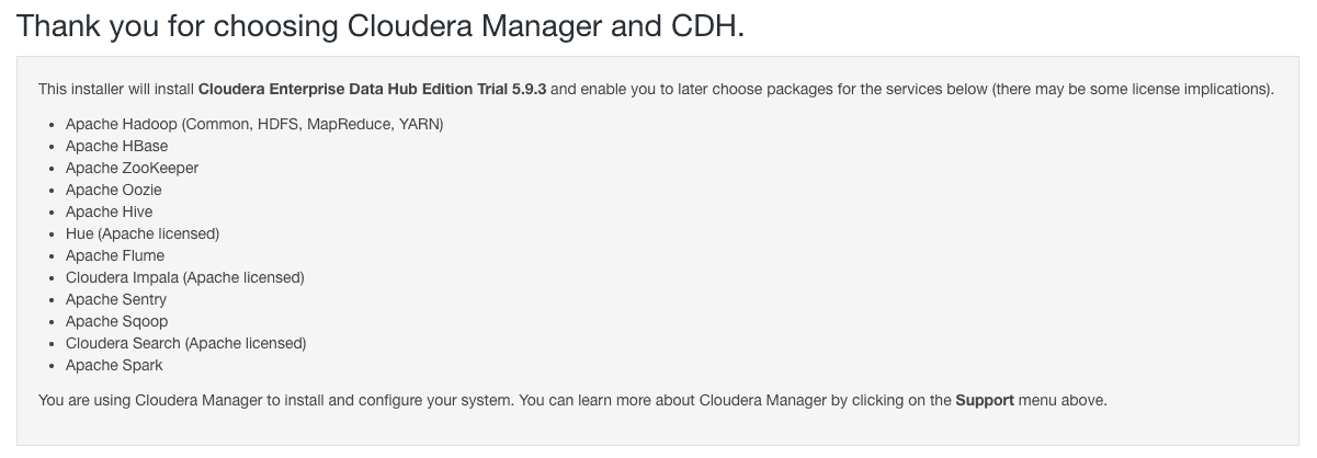 Thank you for choosing Cloudera Manager and CDH CCA 131 installing CDH with Cloudera Manager