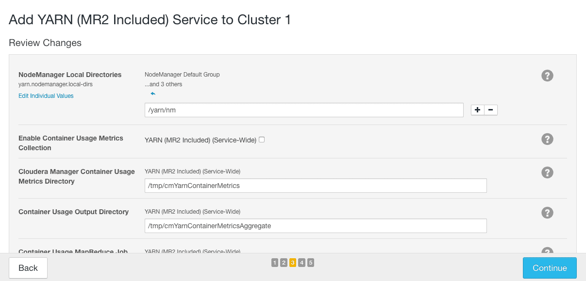 add service using cloudera manager - review changes CCA 131