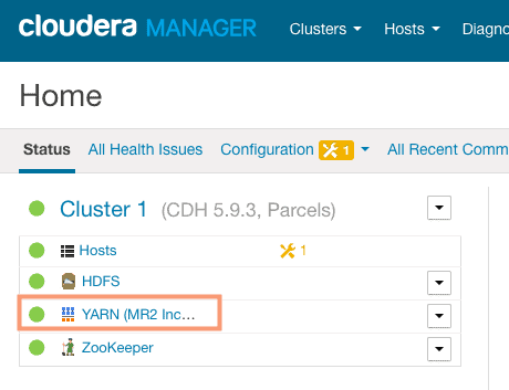 verify new service addition in cloudera manager CCA 131