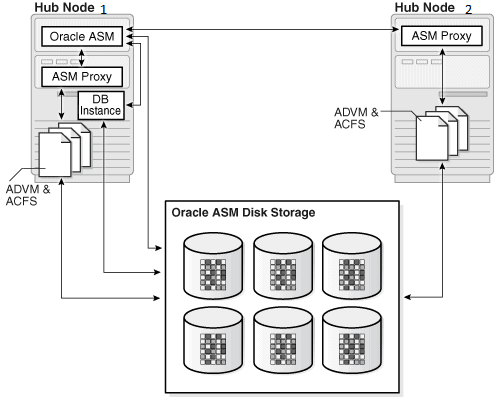 Oracle ASM Proxy Instance