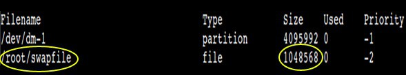 add swap file on the fly in linux